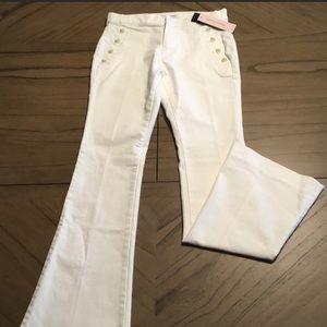 Banana Republic White Pants